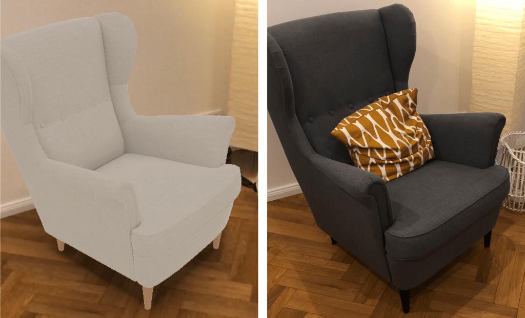 AR und Realität mit IKEA Place